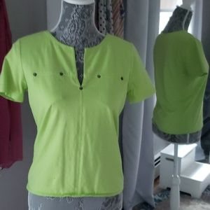 Lime green jersey